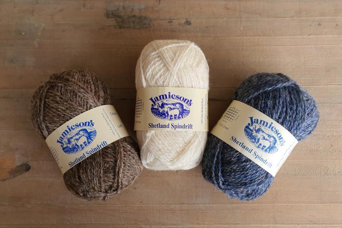 Jamiesons of Shetland Spindrift